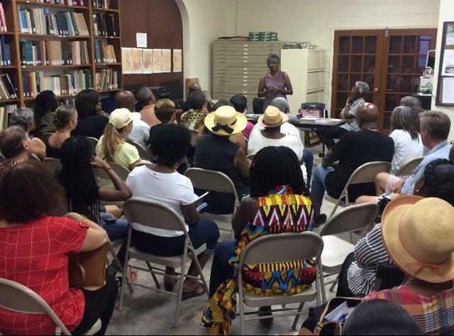 Book signing at Caribbean Genealogy Library in St. Thomas
